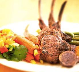 Healthy Bites: Moroccan Lamb Chops