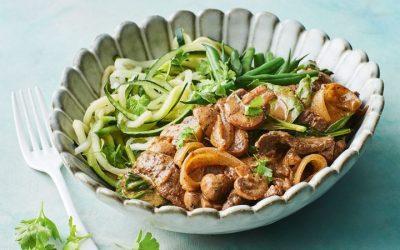 Healthy Bites Recipe: Healthy Beef Stroganoff