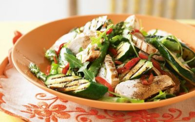 Healthy Bites Recipe: Char-grilled Chicken & Veg Salad