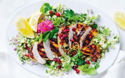 Healthy Bites Recipe: Spiced Chicken With Veggie Tabbouleh