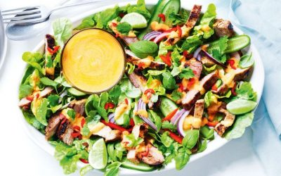 Healthy Bites Recipe: Thai-Style Pork Salad With Red Curry Dressing