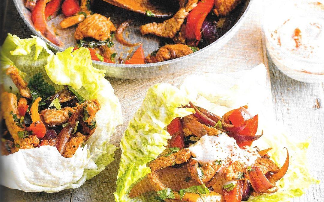 Healthy Bites Recipe: Turkey Fajitas