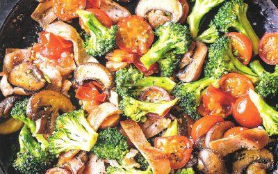 Healthy Bites Recipe: Bacon, Broccoli, Tomato & Mushroom Fry Up