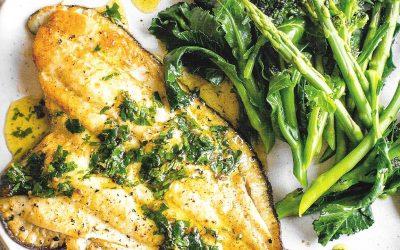 Healthy Bites Recipe: Pan Fried Fish With Lemon & Parsley