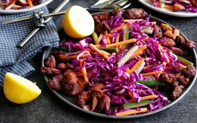 Healthy Bites Recipe: Lemon Spice Chicken With Crunchy Cabbage