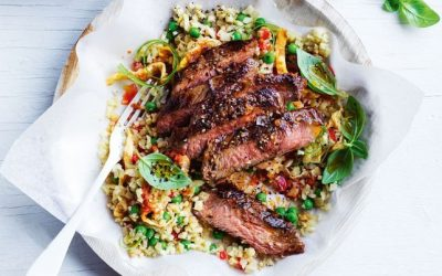 Healthy Bites Recipe: Red Curry Beef With Cauliflower Rice