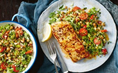 Healthy Bites Recipe: Paprika Fish With Broccoli Tabbouleh
